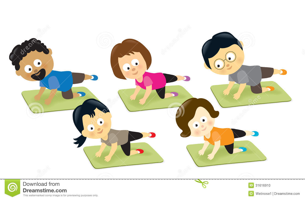 Group Exercise Clipart #1 - Exercise Clipart