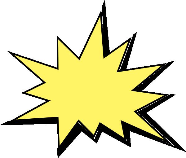 Explosion Clip Art At Clker Com Vector Clip Art Online Royalty Free