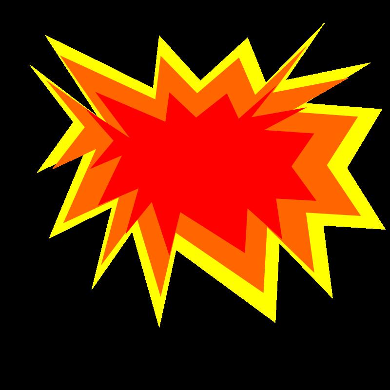 Explosion clip art free free .
