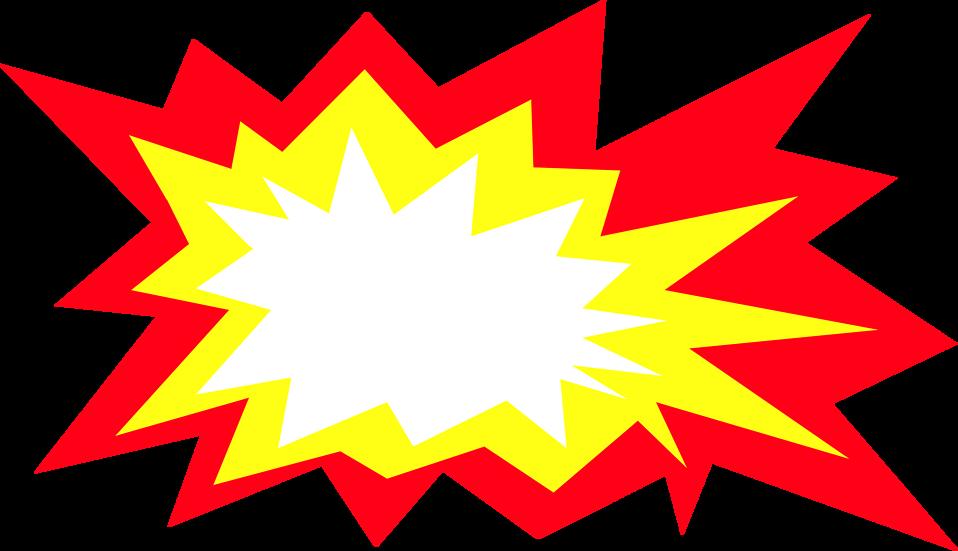 Explosion clip art png - .