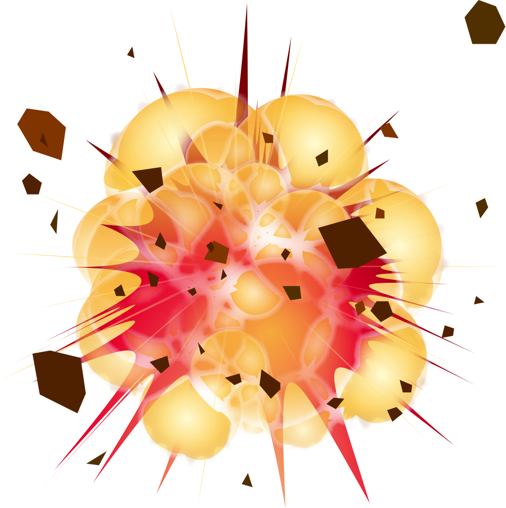 Explosion Clipart PNG - Explosion Clipart