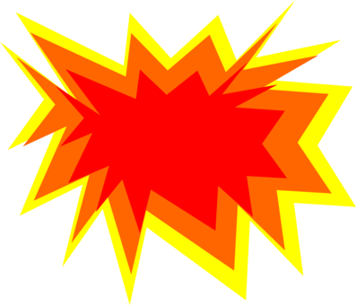 Explosion Nuclear weapon Explosive material Explosion Clipart Bomb - free clipart
