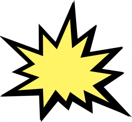 Maps,Technology,Signs u0026 S - Explosion Clipart