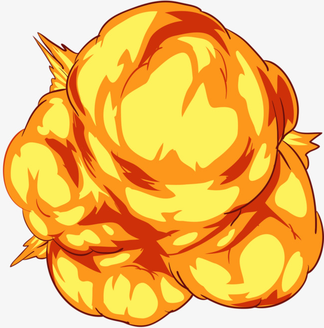 yellow explosions, Yellow, Explosion, Smoke PNG Image and Clipart