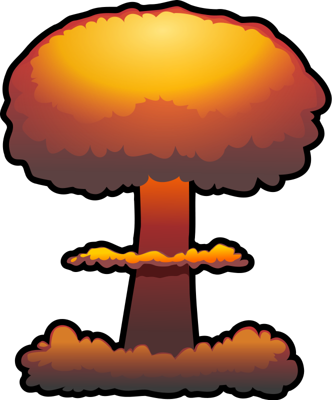 Explosion free to use clip art .