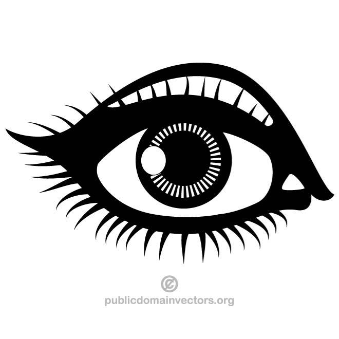 Eye pictures clip art - ClipartFest