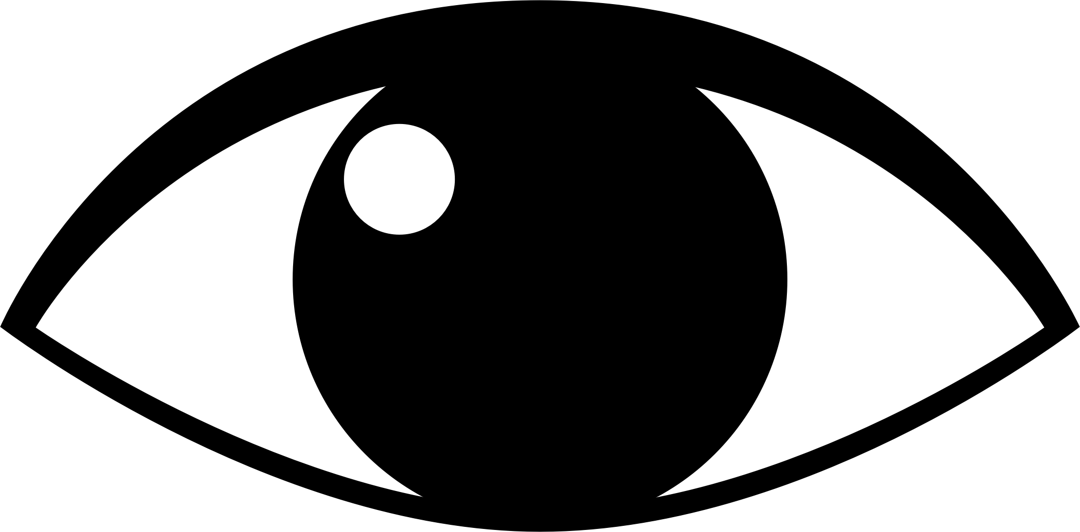 Eyeball clipart 2