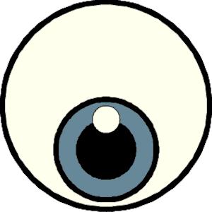 Eyeball eye clip art free clipart images