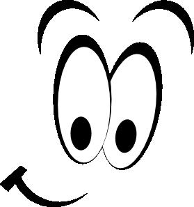Smiley Eyes Clip Art - Eyeballs Clipart