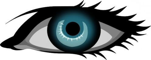 Eyes clip art free vector in open office drawing svg svg 2