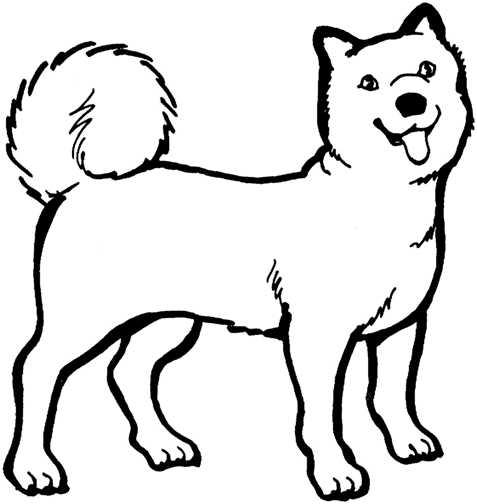 Face Clip Art Black And White Dog Graphics Black White Dogs 051764 Jpg