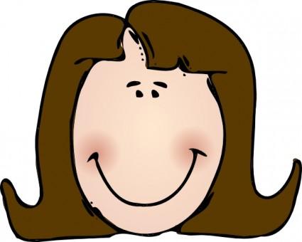 Face clip art image
