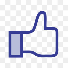 Facebook like button Clip art - Facebook Like PNG Photo