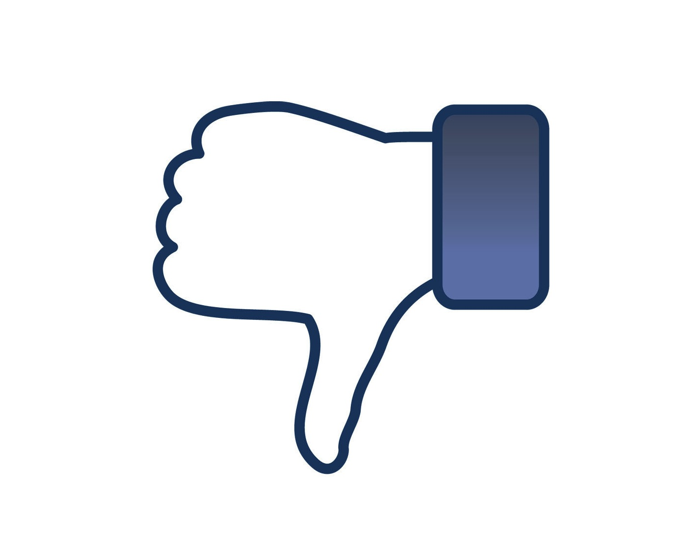 Facebook Dislike Facebook Thumbs Down Paidcontent