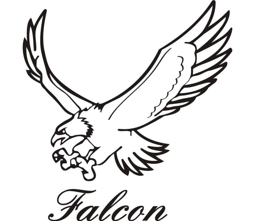 Falcon clip art image free clipart image 2 image