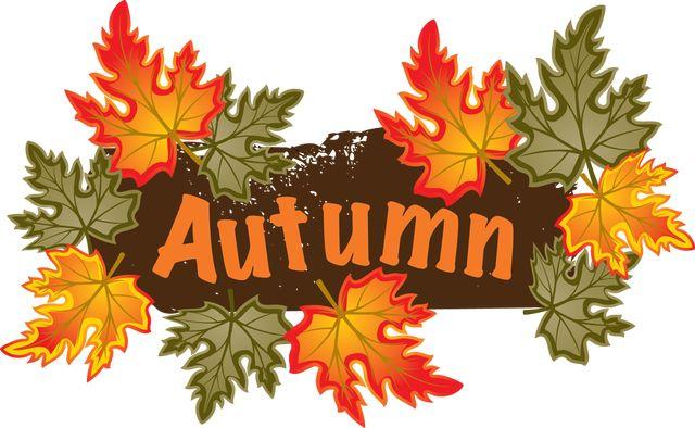 Fall autumn thanksgiving clip art on clip art