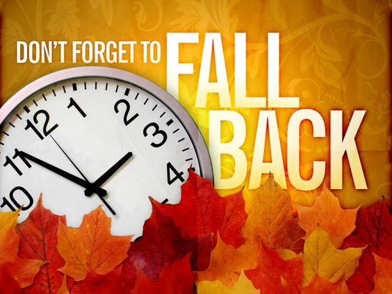 Fall Back Time Change Clip Art   Its that time of year again.