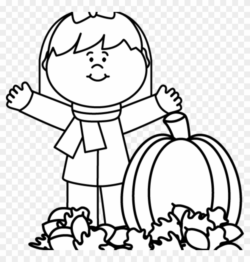 Fall Clipart Black And White Black And White Autumn - Following Directions  Coloring Page