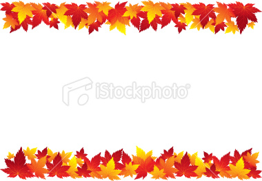 Fall Leaves Clip Art Border ... leaves borders Gallery