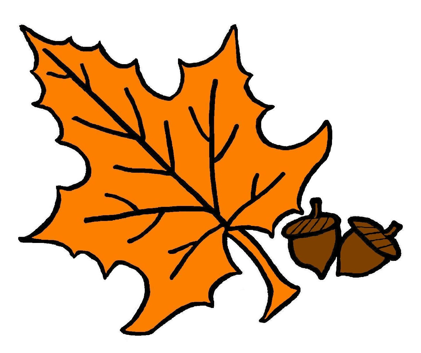 Fall leaves clip art free