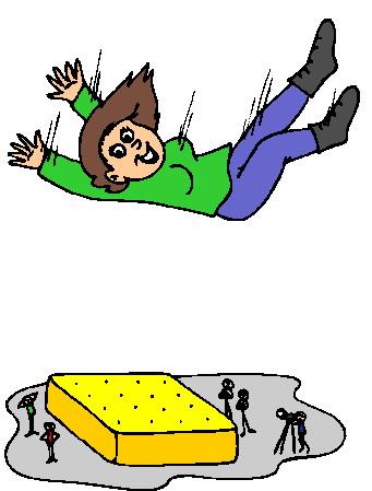 Falling clip art