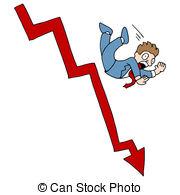 ... Falling Stock Market - An image of a falling stock market.
