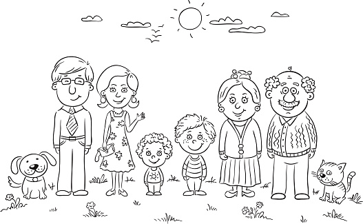 family clipart black and white outline clipart black white classroom  clipartclipart Family Clipart Black And White wallpaper