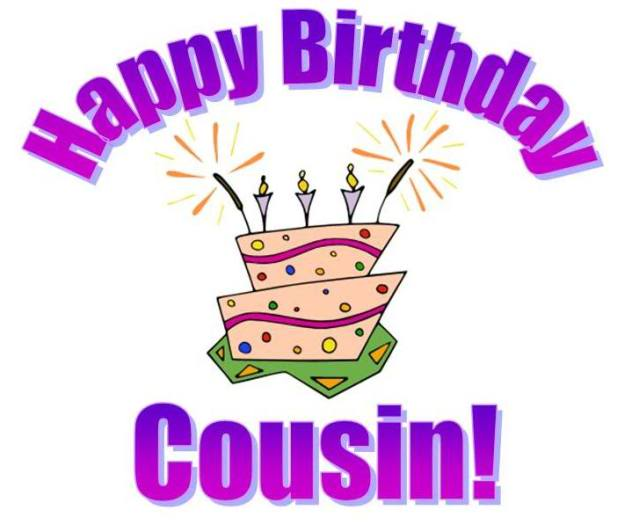 Family Cousin Happy Birthday Graphics Family Cousin Happy Birthday