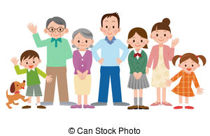 Family illustrations and clipart (140,870)