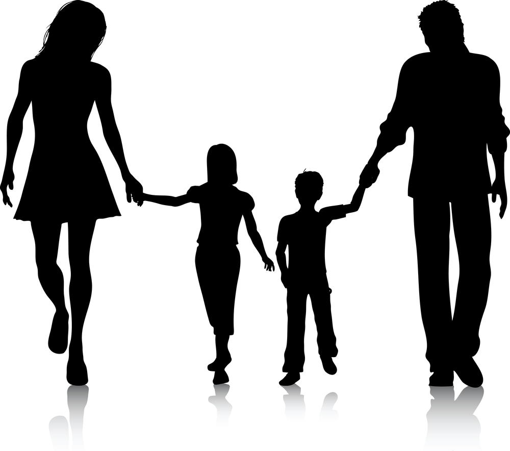 Family of 5 clipart free clipart images