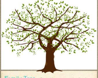Family tree clip art tree . - Family Tree Clipart