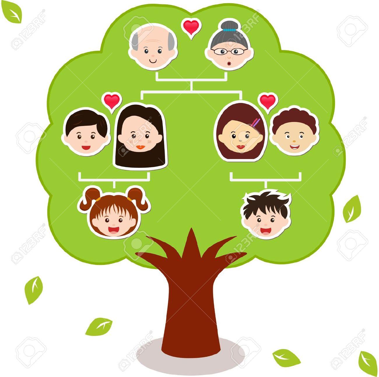 family tree: Icons Family Tre - Family Tree Clipart