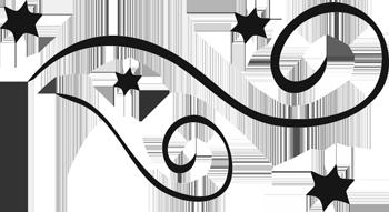 Fancy border clip art swirl free clipart image 3 image