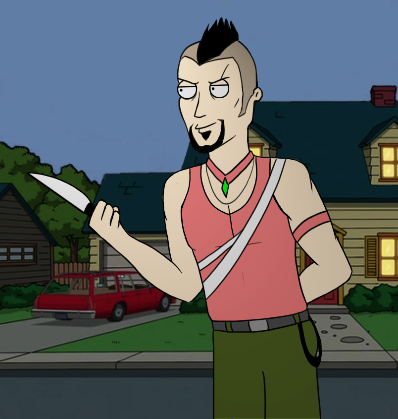 Far Cry 3 - Vaas (Family Guy) by SovietMentality ClipartLook.com