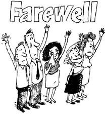 Farewell Luncheon Clipart