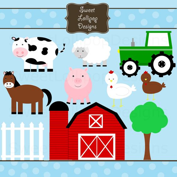 5 Free Farm Animal Clipart Preview Farm Animal Free Hdclipartall