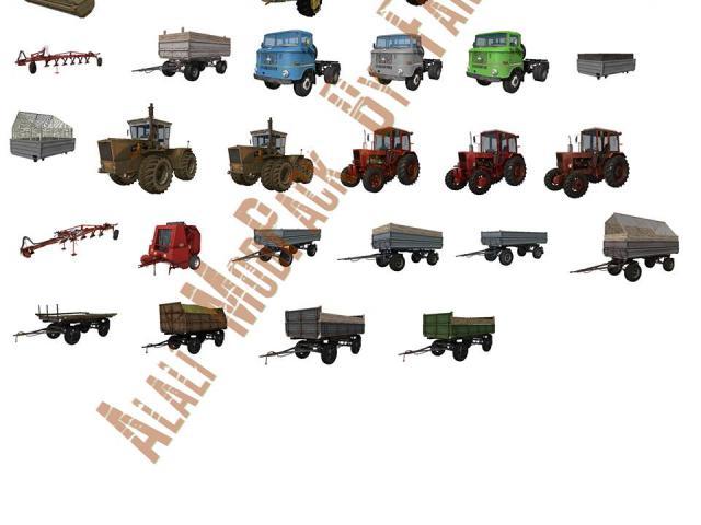 Farming Simulator Clipart