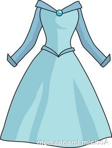 Fashion Dresses Blue Dress Clipart Aecfashion Com