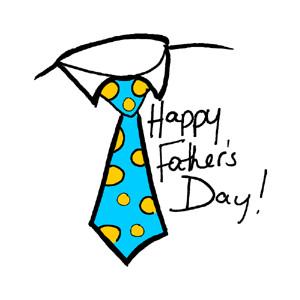 Fatheru0026#39;s Day Tie Clipart