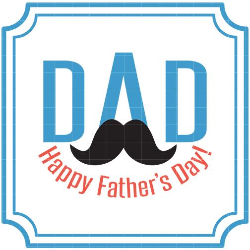Fatheru0026#39;s Day Labels 2 Clip Art - Quarter Clipart