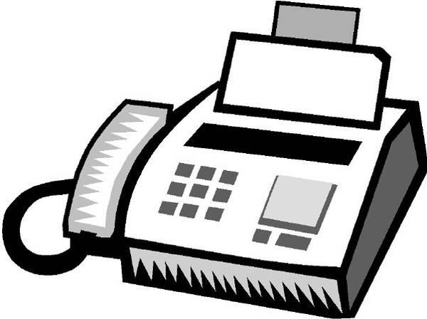 Office Fax Machine Clipart Im