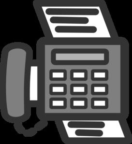 Fax Clip Art