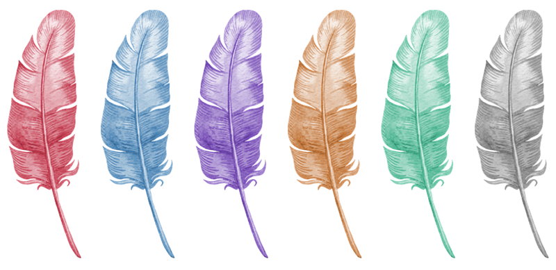 Feather clip art to Feather Clipart 4
