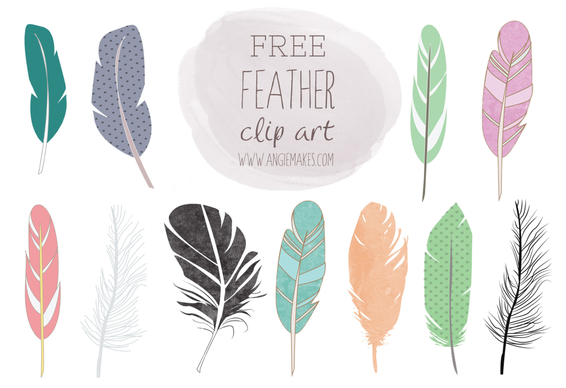 free feather clip art - Feather Clipart