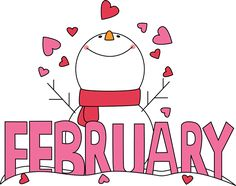 February Clip Art | Month of .
