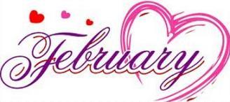 February Clipart