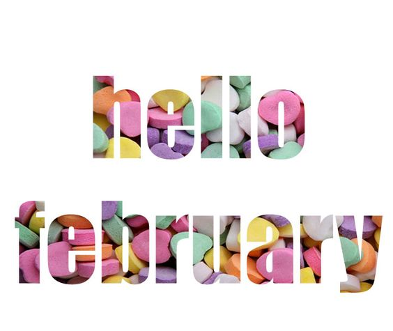February goals from my blog f - February Clipart