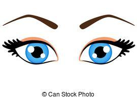 ... Female blue eyes