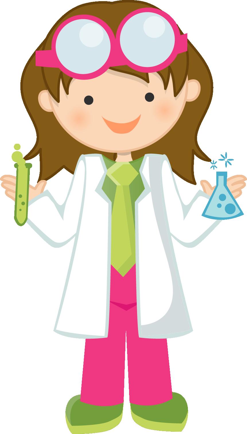 Female Mad Scientist Clipart Fun Time Website