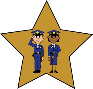 Female police officer clipart free images 2